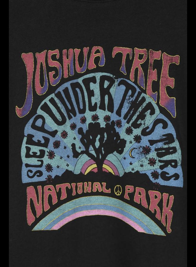 Joshua Tree Tee Off Black