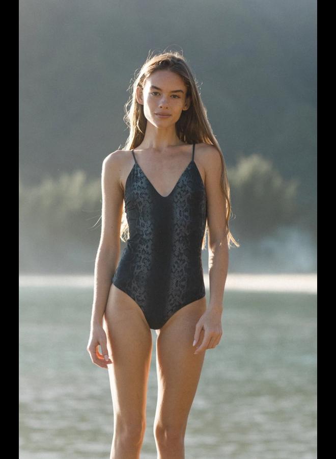 Everyday Bodysuit Black Boa