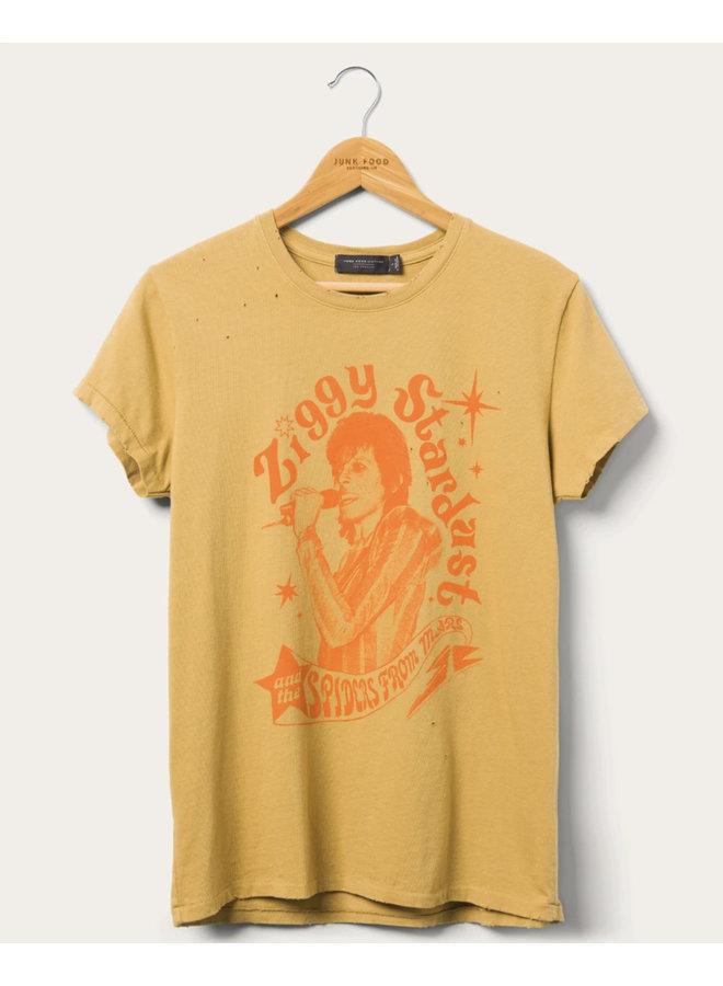 Ziggy Spiders Vintage Tee Yellow