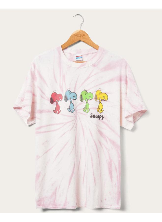 Snoopy Grateful Tie Dye
