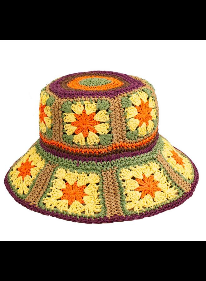 Fergie Bucket Hat Multi-Color