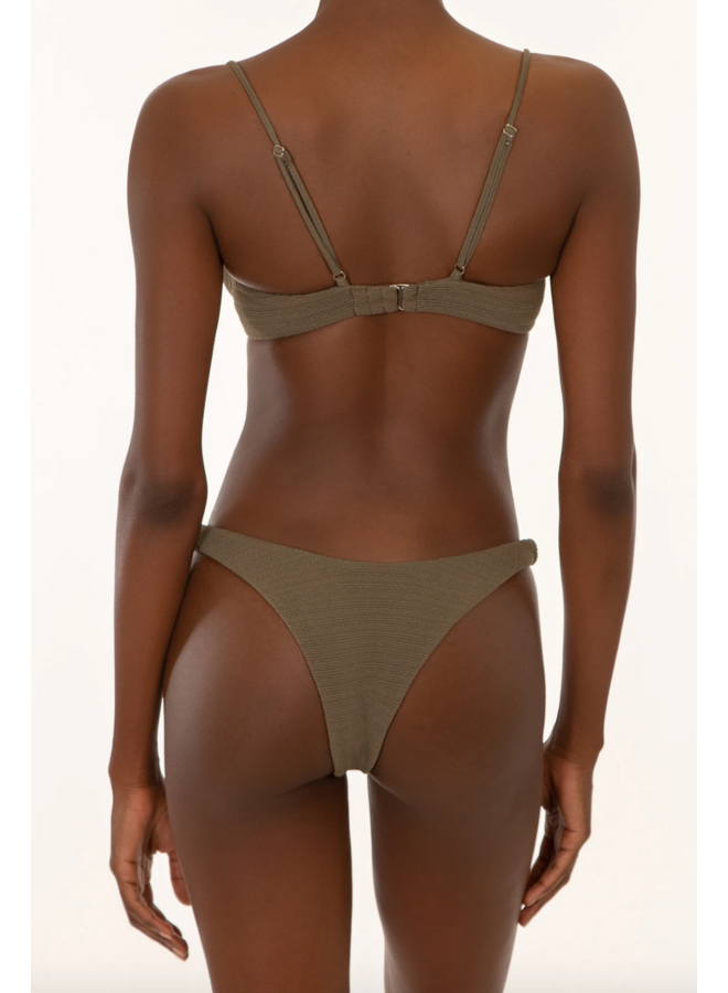 Underwire Top Olive