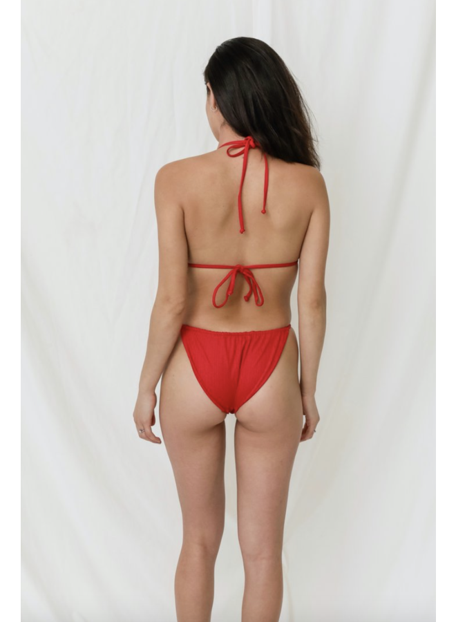 Cooley Bottom Scarlet Rib