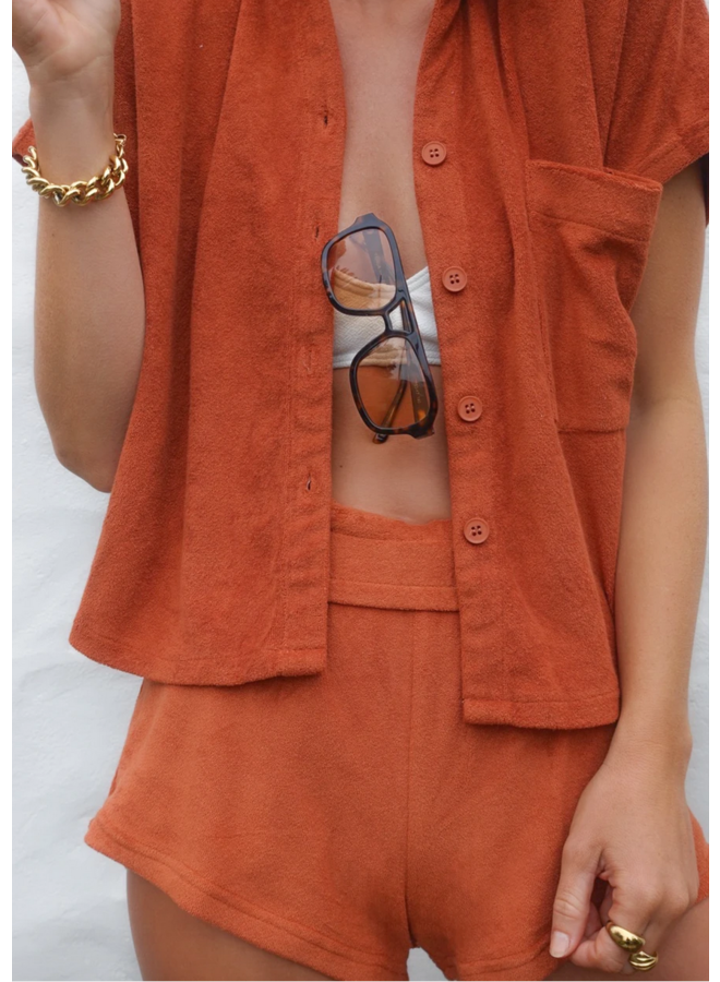 Shirt Set Rust