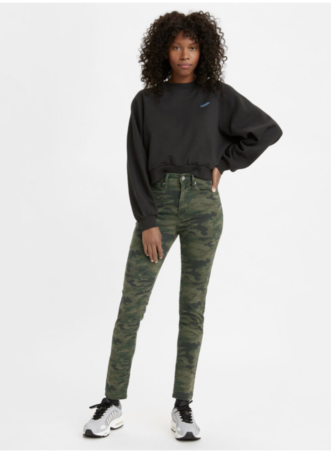 721 High Rise Skinny Andie Camo