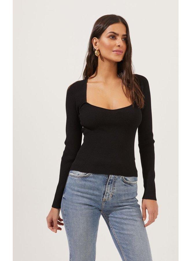 Rosa Sweater Black
