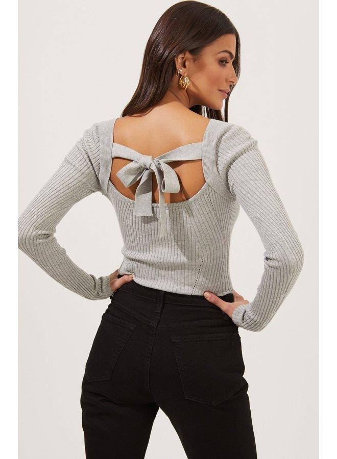 Celine Bodysuit Heather Grey