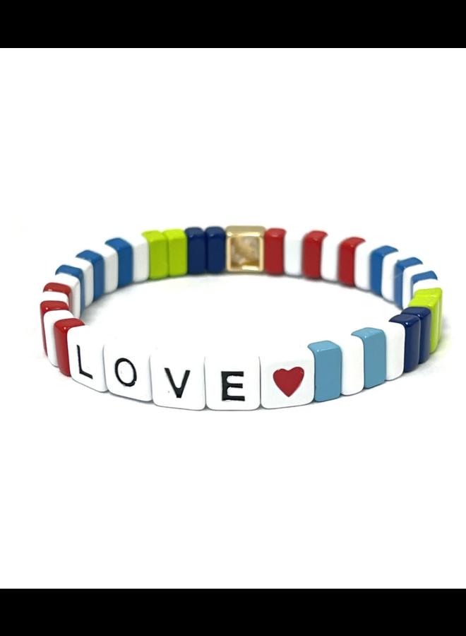 Tile Bracelet Summer Love