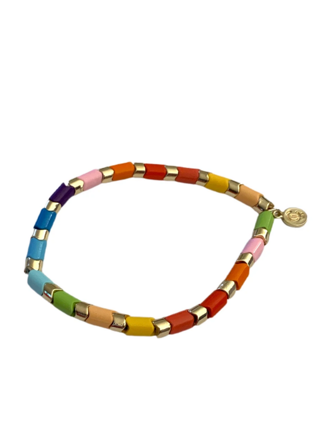 Zig Zag Tile Bracelet