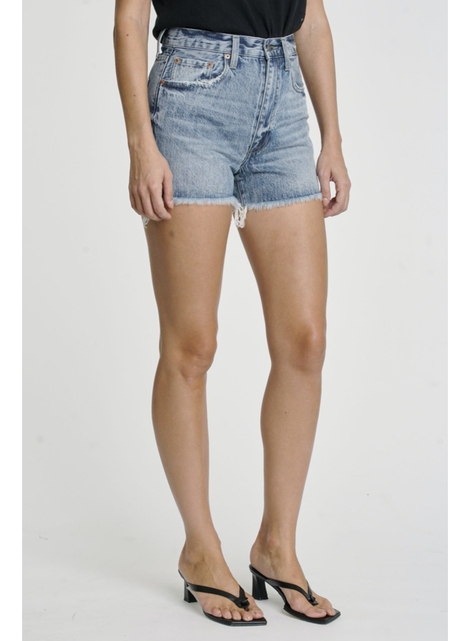 Maeve High Rise Cut Off Shorts Play Day