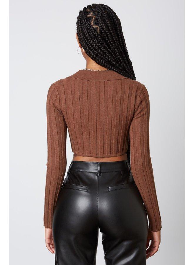 Ryleigh Sweater Mahogany