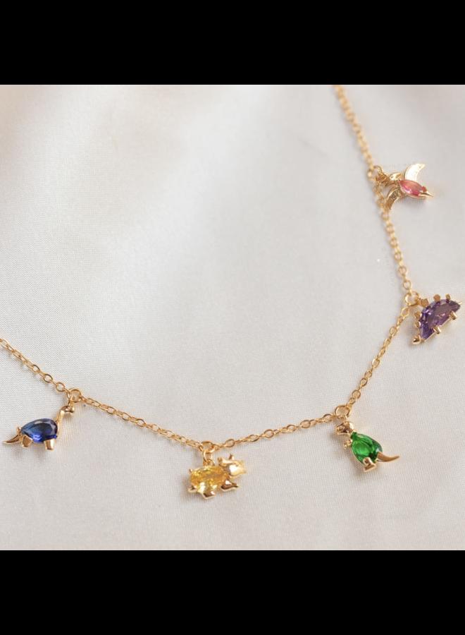 Dino Rawr Necklace