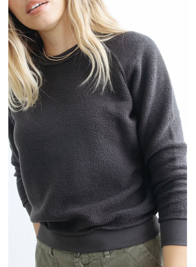 Ziggy Inside Out Sweatshirt Vintage Black