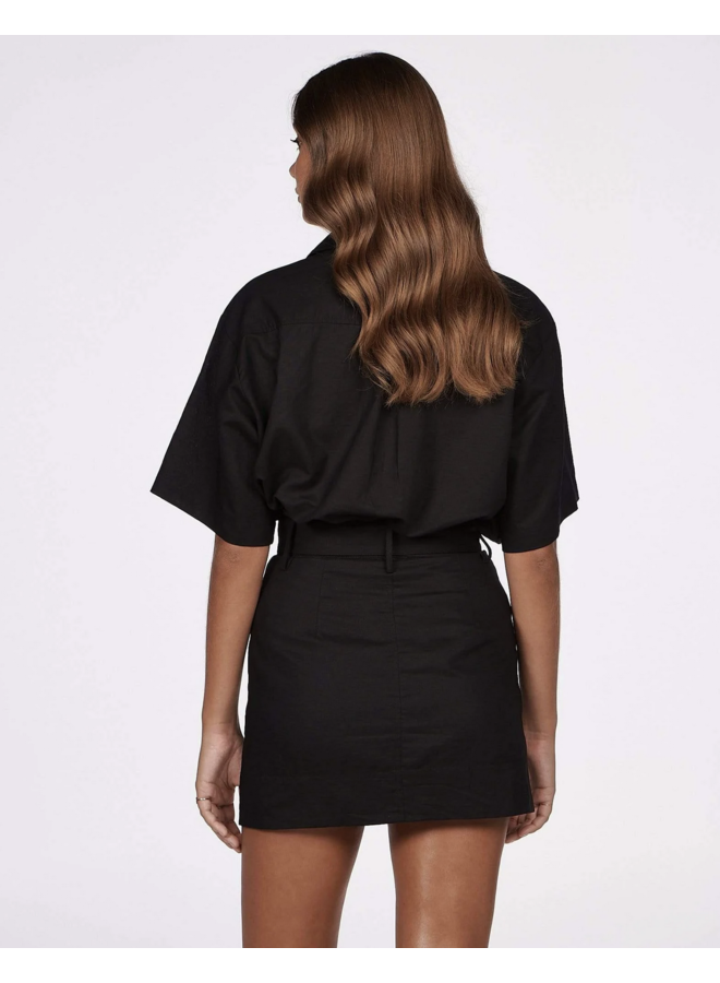 Fern Mini Skirt Black