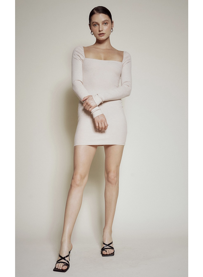 Kamryn Knit Dress Bone