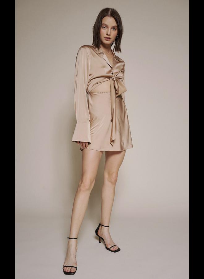 Olivia Dress Nude
