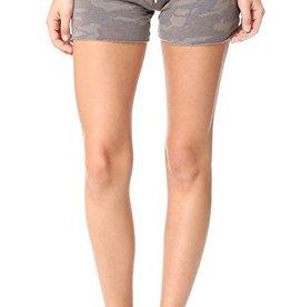 Monrow Camo Vintage Shorts