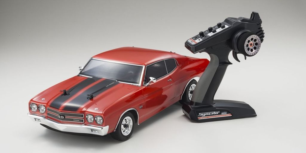 Cars Elect RTR KYOSHO Put EP FAZER r/s Vei 1970 Chevy Chevelle SS 454 LS6
