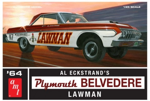 Plastic Kits AMT (n) 1/25 1964 Plymouth Belvedere LA