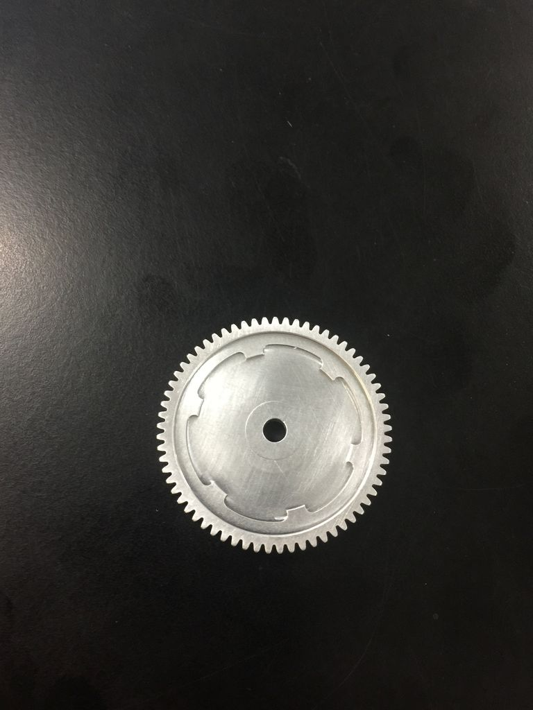 Parts Alloy Spur Gear 65T (EP) suit Spirit, Carnage, Intergy, Vantage (FTX6275)