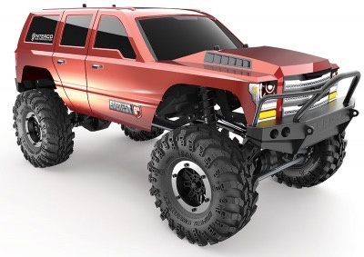 Cars Elect RTR Everest GEN7Sport 1/10 Crawler RTR Orange.D. Battery & Charger included