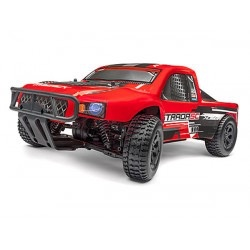 Cars Elect RTR Maverick Strada Red SC 1/10 4WD Electric Brushless Short Course Truck with Battery & Charger.