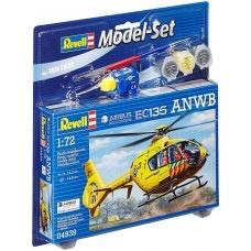 Plastic Kits Revell Model Set (n) AirbusI Heli EC135 ANWB 1:72
