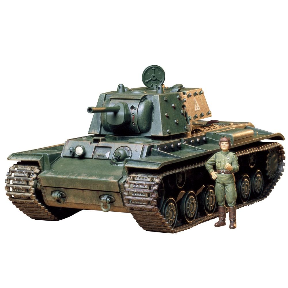 Plastic Kits Tamiya 1/35 Russian Tank KV-1B Scale Plastic Model Kit
