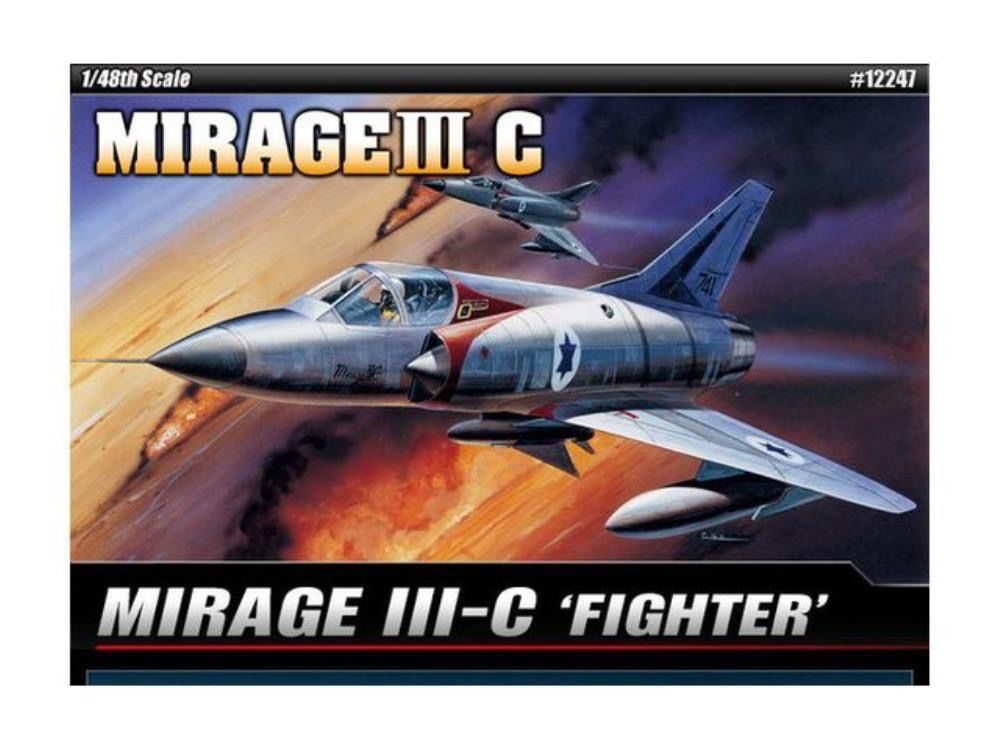 Plastic Kits Academy **Aust Decals** 1/48 Mirage 111C Fighter