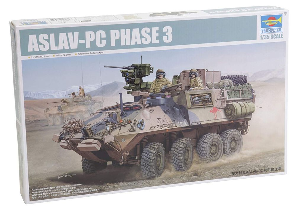 Cars Kit TRUMPETER  1/35 Australian Aslav-PC Phase 3