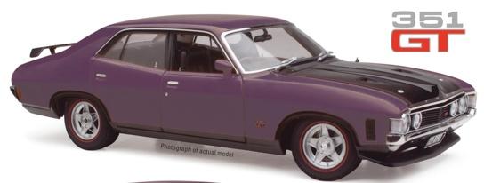 Diecast CLASSIC CARLECTABLES Diecast Ford XA Falcon RPO83 Sedan Wild Violet