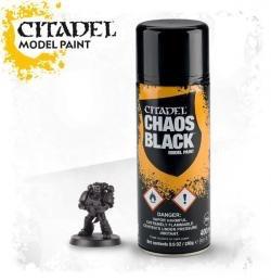 Toys GW Citadel Chaos Black Spray 2015. 400ml
