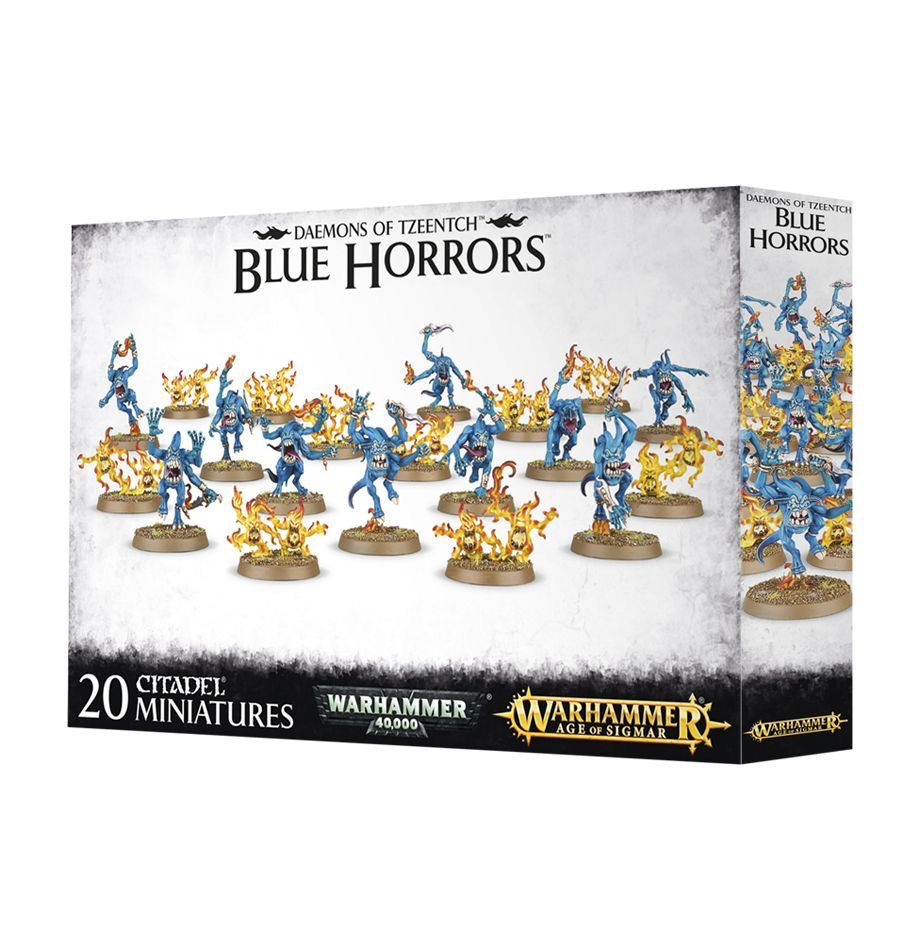 Toys GW Daemons of Tzeentch Blue Horrors & Brimstone Horrors