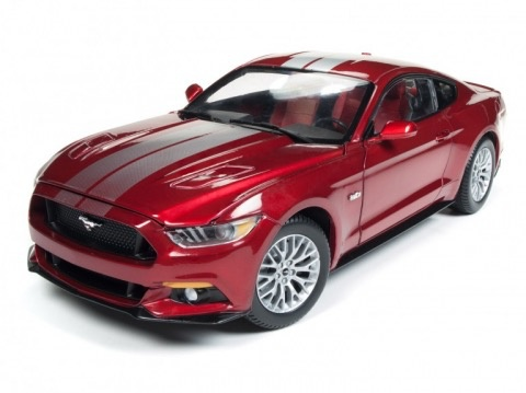 Diecast DIECAST 1:18 2017 Ford Mustang GT includes a 1:64 aw Car.