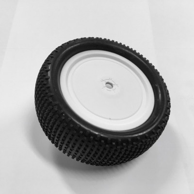 Wheels Louise World E-Groove 1/10 EP Buggy Front Soft Tire 10mm hex
