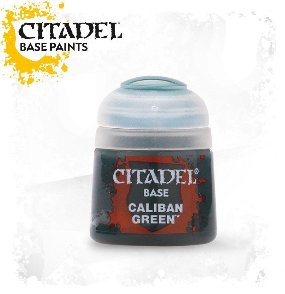 Toys GW Citadel Base Paint: Caliban Green - 12ml.