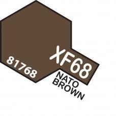 Paint Tamiya Color Mini Acrylic Paint XF-68 Nato Brown.
