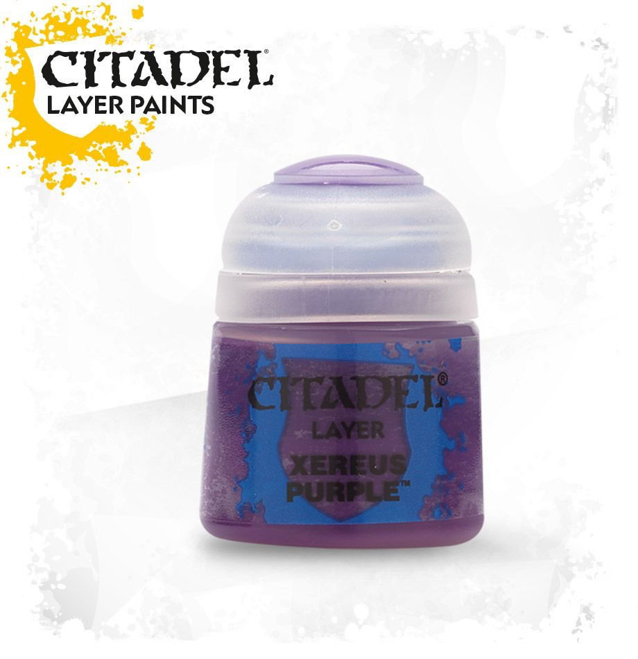 Toys GW Citadel Layer Paint:  Xereus Purple - 12ml.