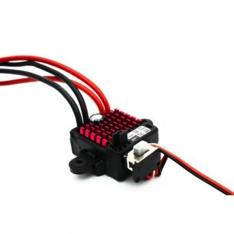 Elect Speed Cont Dynamite WP 60A FWD/REV Brushed ESC