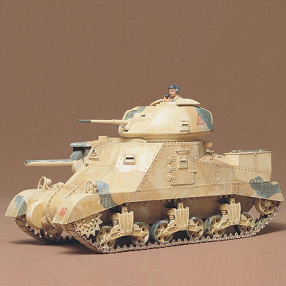 Plastic Kits Tamiya British M3 Grant Tank 1:35