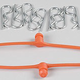 Parts Dubro Body Clip Retainer Orange