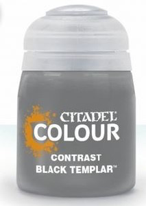 Toys GW Citadel Contrast Paints:  Black Templar - 18ml.