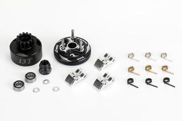 Parts Alpha Clutch Bell COMBO SET (13T, bearings, flywheel, Clutch shoes)