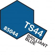 Paint Tamiya Color Spray for Plastics TS-44 Brilliant Blue. 100ml Spray Can