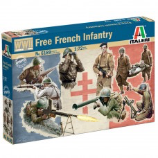 Plastic Kits ITALERI (d) French Infantry WWII. 1:72 Scale