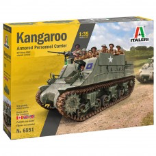 Plastic Kits ITALERI Kangaroo Armored Personnel Carrier 1:35 Scale