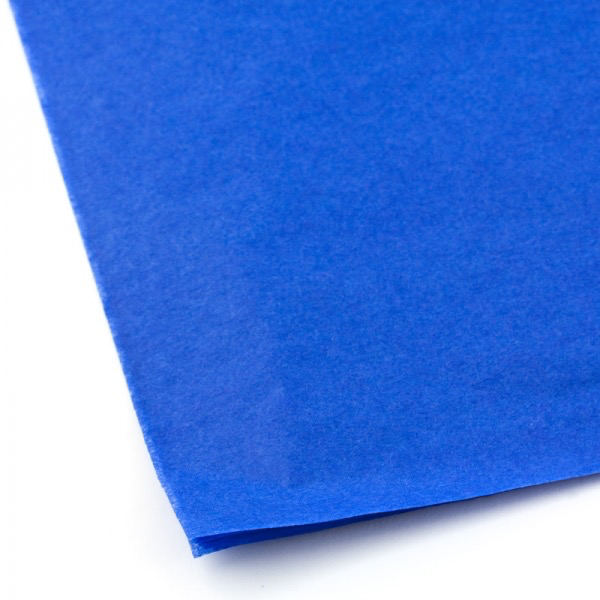 Covering DUMAS 59-185E Parade Blue Tissue Paper 20 X 30 Inch