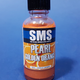 Paint SMS Pearl Acrylic Lacquer GOLDEN ORANGE 30ml