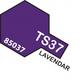 Paint Tamiya Color Spray for Plastics TS-37 Lavender. 100ml Spray Can