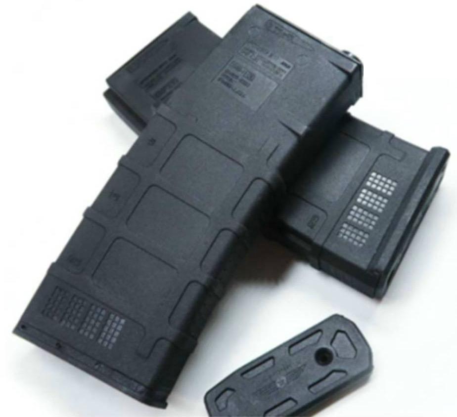 Blaster TT This Tracer magazine M4A1 V8, SCAR V2 & HK416D (glow in the dark gel balls).